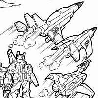 Obscure tf books for Starscream coloring page